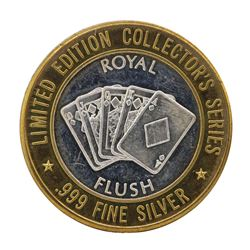 .999 Silver Riverfront Station St. Charles Missouri $10 Collectors Series Gaming
