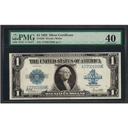 1923 $1 Silver Certificate Note Fr.238 PMG Extremely Fine 40