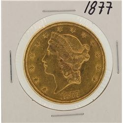 1877 $20 Liberty Head Double Eagle Gold Coin