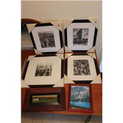 Lot of (6) Framed Photos