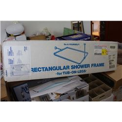 NIB Rectangular Shower Frame