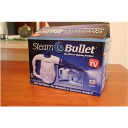 NIB Steam Bullet Handheld Steam Cleaner
