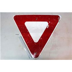 "Yield Road Sign (28"" x 24"")"