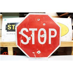 "STOP' Sign (30"" x 30"")"