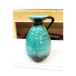 "Blue Mountain Pottery Vase (11"" Tall)"