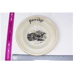 Vintage Banff Avenue Porridge Bowl