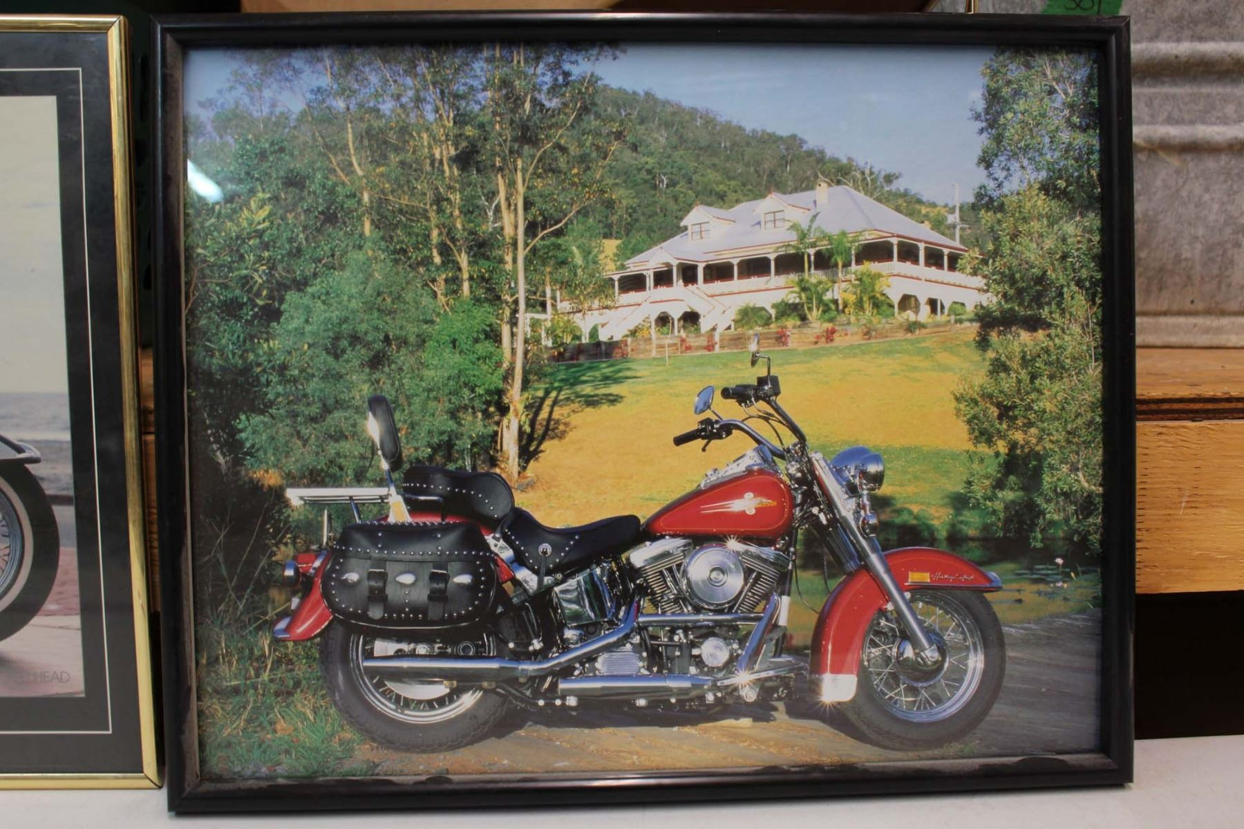 Framed Pictures of Harley Davidson Motorcycles (4)