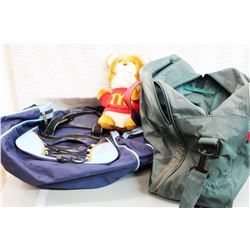 (2) Carrying Bags and Misc Cords (Extension and Cable)