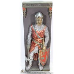 MARCUS REPLICAS PLASTER CAST KNIGHT WALL