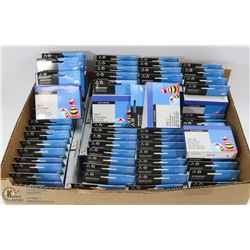 FLAT OF ASSORTED PRINTER CARTRIDGES