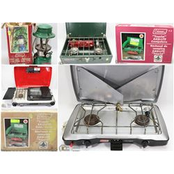 FEATURED ITEMS: COLEMAN CAMP STOVES AND LANTERNS!