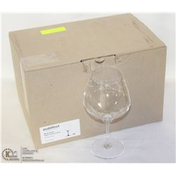 CASE OF 6 NEW PUDDIFOOT WINE GLASSES