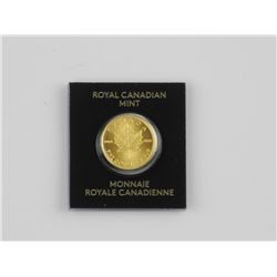 .999 Fine Gold Maple Leaf Coin