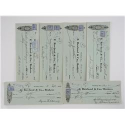 Lot (5) Financial Instruments 'Strathron' Dated 19