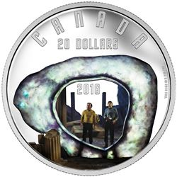 2016 $20 Star Trek: The City on the Edge of Forever - Pure Silver Coin