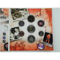 2006 Montreal Canadiens: NHL Coin Set with 25-cent.