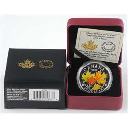 .9999 Fine Silver Coins Majestic Maple Leaves w/Co