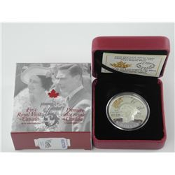 .9999 Fine Silver $20.00 Coin 'First Royal Visit -