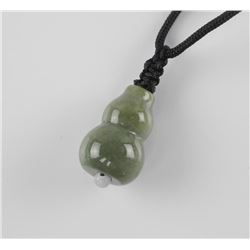 Genuine Burma Jade Pendant on Nylon Chord (ER)