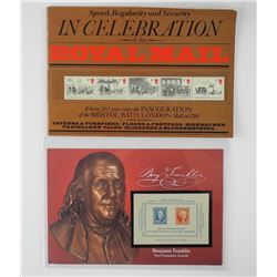 Royal Mail Book with Mint Stamps