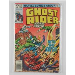 Lot (2) Marvel - Ghost Rider Comic Dec #39 and 41