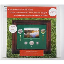 Commemorative Golf Frame with Coins