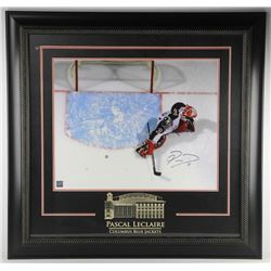 """Pascal Leclaire 16x20"""" Photo Signed Gallery Frame with etched mat"""