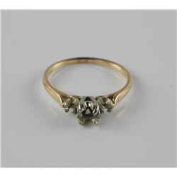 Estate 10kt Gold Solitaire Ring Mount