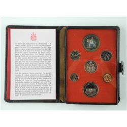 1973 RCM Mint Coin Set - Rare Mounted Police Set