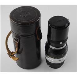 Nikon - Nikkor - Q Auto Camera Lens with Leather Case (SXR)