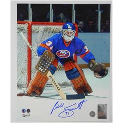Billy Smith - 8x10 Signed (NYI)