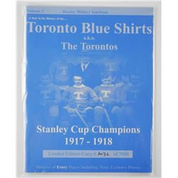 Toronto Blue Shirts. LE Yearbook. 1917-1918