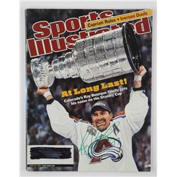 Ray Bourque - Sports Illustrated with Cup June 2001