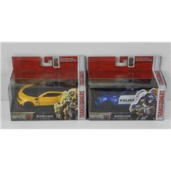 2x Die Cast Transformer Cars ' NEW'