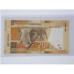 South Africa Bank - 20 Rand Nelson Mandela