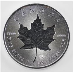 2018 - .9999 Fine Silver $5.00 Maple Leaf Coin