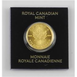 .9999 Pure Fine Gold Maple Leaf Coin