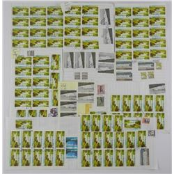 Estate Lot - Canada High Value Stamps - Lightly Cancelled, Approx $500.00 FACE.