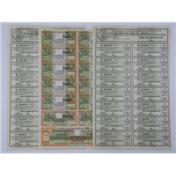 Lot - German Stock Redemption Sheets 1923