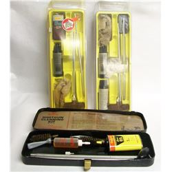 Three Outers Gun Cleaning Kits