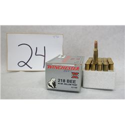 WINCHESTER 218 BEE AMMO