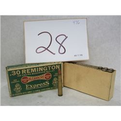 .30 REMINGTON AMMO