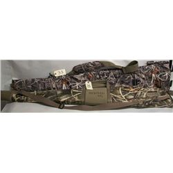 Two soft camo gun cases
