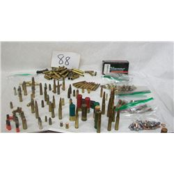 ASSORTED MIXED AMMUNITION LOT