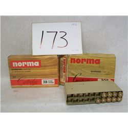 NORMA 308 NORMA MAG CARTRIDGES