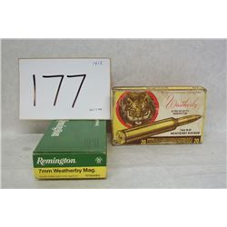 7MM WEATHERBY MAGNUM AMMUNITION
