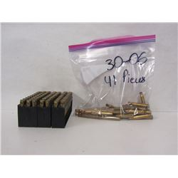 111 PIECES OF 30-06SPRING BRASS