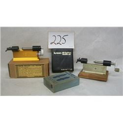 CASE TRIMMERS AND DIE SETS