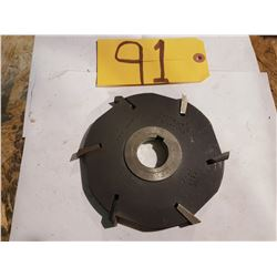"""Stagered Indexable Milling Cutter 6"""""""