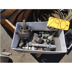 Box of Hydraulic piece